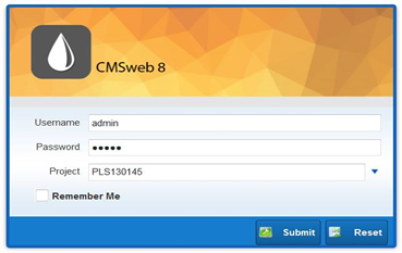 CMS Web Base Login